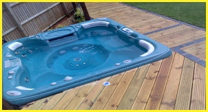 Correct Electrics Fitted To Supply Hot Tub By Bromsgrove Based Electricians, NJM Electrical Ltd