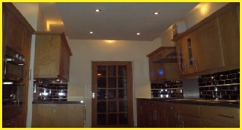 Supply And Fitting Kitchen Wiring And Lighting By Bromsgrove Based Electricians, NJM Electrical Ltd