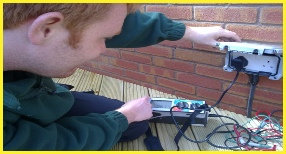 Supply, Installation & Testing Of Outdoor Weatherproof Garden Sockets By Bromsgrove Based Electricians, NJM Electrical Ltd